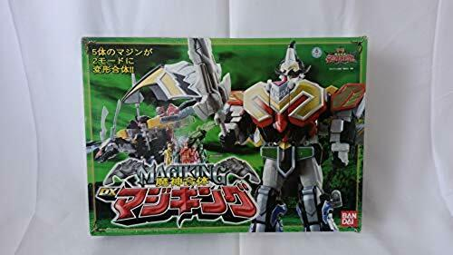 Power Rangers Mystic Force Titan megazord DX MagiKing Bandai japan F//S