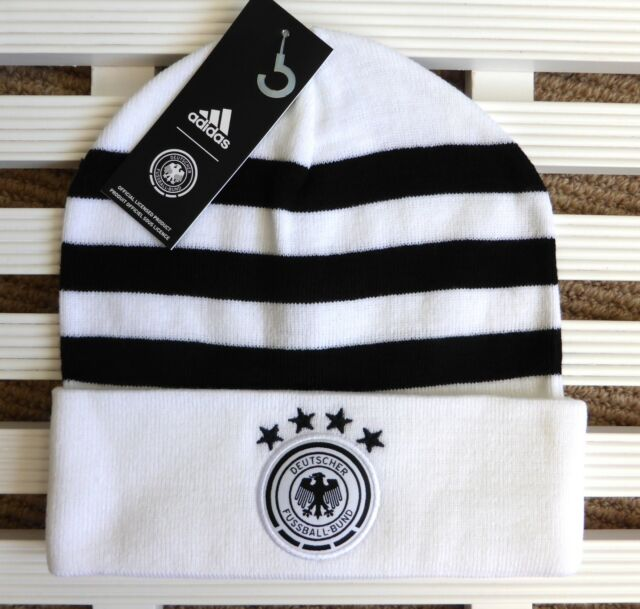 Germany adidas 3s Official Football Beanie Toque Hat OSFM Adult Soccer Tag  for sale online  648fa5a84dcc