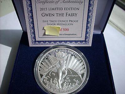 Grace the Fairy 1 OZ .999 Silver Proof Marvel /& DC comics Grindberg Unique slab