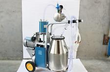 Portable Electric Goats Milking Machine Piston Type Milking Machine 220v