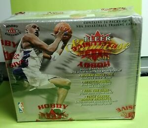 2000-01-Fleer-Showcase-Basketball-Box-Hobby-Factory-Sealed-Inserts