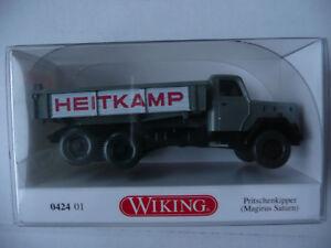 Wiking-0424-01-Pritschenkipper-Magirus-Saturn-der-Fa-Heitkamp-Massstab-1-87