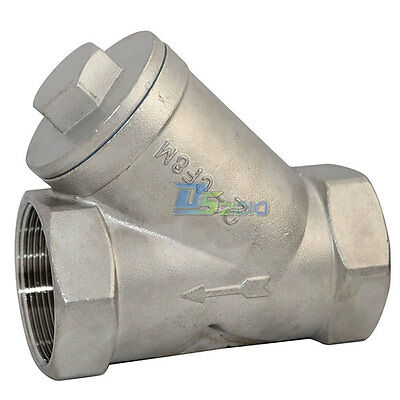 WYE STRAINER Mesh Filter Valve 800 WOG Stainless Steel SS316 CF8M NEW