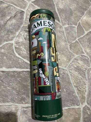 New Jameson Irish Whiskey Holiday Gift Tin Empty Love Thy Neighborhood New York