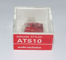 AUDIO TECHNICA ATS10 ORIGINAL (RED) GENUINE STYLUS,  ATS11 / 12 / VM8