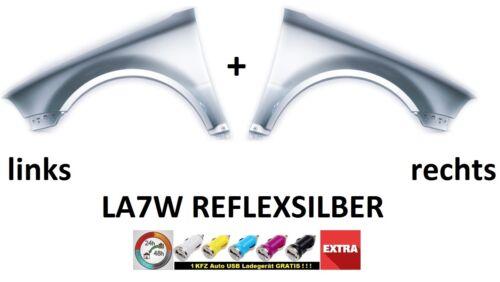 03-05 ohne blinker VW PASSAT B5 FL Kotflügel LA7W REFLEXSILBER RECHTS+LINKS  bj