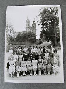 Basilika Vierzehnheiligen Bad Staffelstein  Mädchenklasse 1960 großes Foto