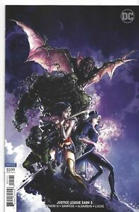 Justice-League-Dark-5-Swamp-Thing-Crain-Variant-DC-Comic-1st-Print-2018-NM