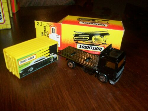 Matchbox MB23 Volvo Container Truck Auto Products W//Modern Box