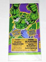The Incrediible Hulk 1-plastic Table Cover -party Supplies