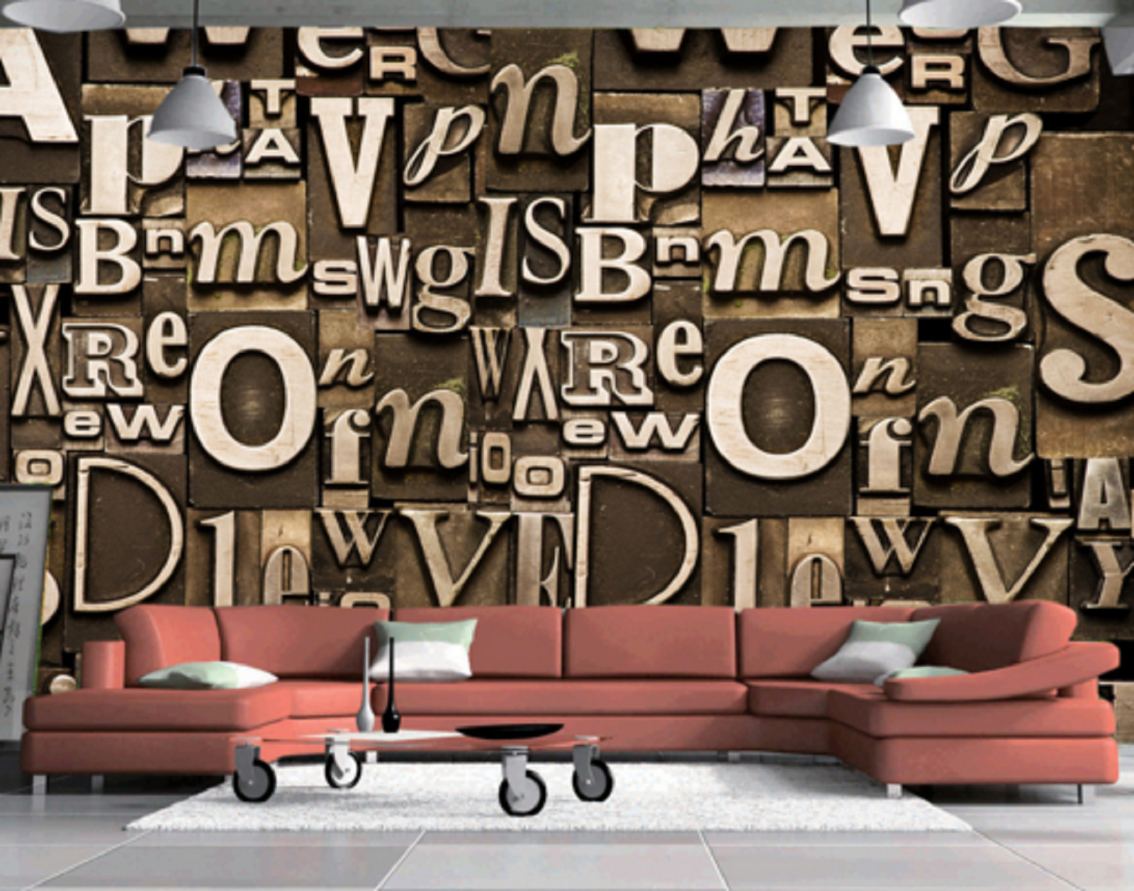 3D Alphabets Puzzle 77 Wall Paper Murals Wall Print Wall Wallpaper Mural AU Kyra