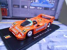 Porsche 962 ( 956 II ) #17 Spa Winner 1986 Brun Jägermeister Boutsen Spark 1:43
