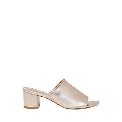 NEW Piper Gigi Rose Gold Leather Sandal