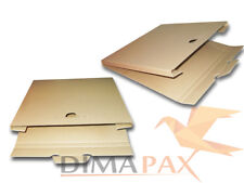 200 LP Versand Kartons 325x325x13 mm für 1-3 Vinyl Schallplatten 12 inch