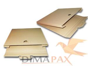 """200 LP Versand Kartons 325x325x13 mm für 1-3 Vinyl Schallplatten 12"""" inch"""