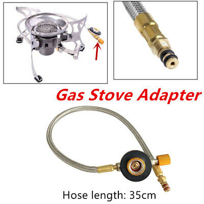 Universal Gas Stove Adapter Hose Connector Regulator f//Outdoor Camping BRS-8