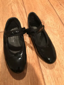 Girls Black Tap Shoes Freestyle A