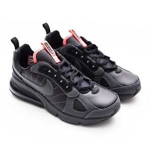 New Nike Women Air Max 270 Futura shoes Anthracite Black Solar Red Size  9.5