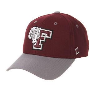 FORDHAM-UNIVERSITY-RAMS-FU-NCAA-COMPETITOR-SNAPBACK-ZEPHYR-MAROON-CAP-HAT-NEW