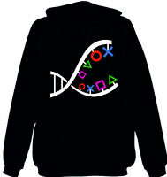 Ps Dna Hoodie Ps3 Ps4 Psvita Games Console