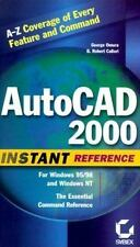 AutoCAD 2000 Instant Reference