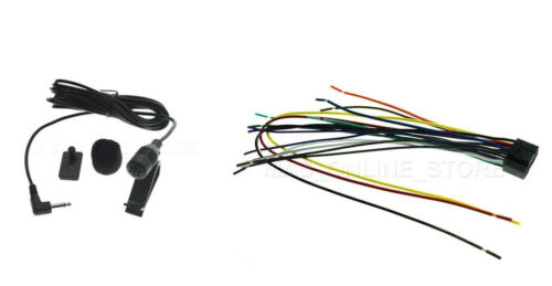 WIRE HARNESS /& MIC FOR JVC KW-R930BTS KWR930BTS *SHIPS TODAY* A1
