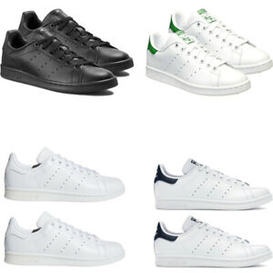 Adidas-Mens-Originals-Stan-Smith-Trainers-Skate-Shoes-Lace-Up-Size-7-8-9-10-11