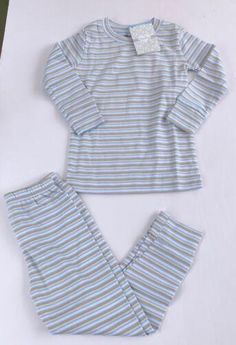 NWT Kissy Kissy Qt Qt Pajamas STRIPES 2 piece 18-24 2 or 6 PIMA COTTON