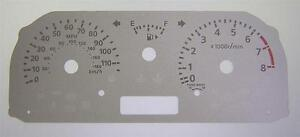 Lockwood SILVER Dial Conversion Kit for Nissan Cube without Sport Icon C126