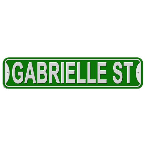 Plastic Wall Door Street Road Sign Names Female Ga-Ge