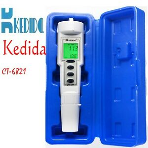 Details about Automatic Calibration Digital Waterproof pH & ORP Meter  Portable PH Pen tester
