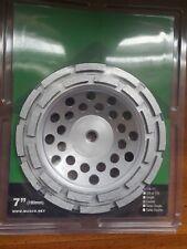 7 Double Row Diamond Grinding Cup Wheel 58 11 Wetdry For Concrete Masonry