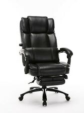 Big And Tall Reclining Office Chair High Back Executive Computer Desk Chair Wi