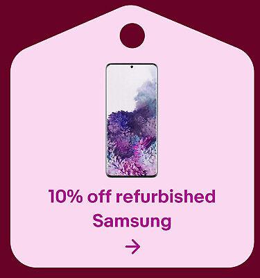 10% off refurbished Samsung