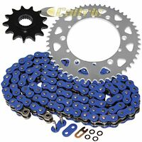 Blue O-ring Drive Chain & Sprockets Kit Fits Yamaha Ttr250 Tt-r250 1999-2006