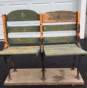 Image Is Loading 1928 VINTAGE BOSTON GARDEN ORIGINAL STADIUM SEATS