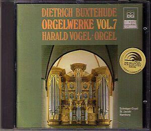 Dieterich-BUXTEHUDE-Organ-Work-Vol-7-HARALD-VOGEL-MDG-CD-Orgel-Orgue
