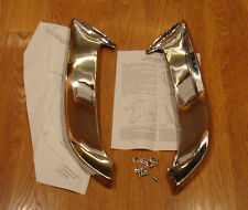 1955 CHEVY FRONT FENDER GRAVEL STONE GUARDS