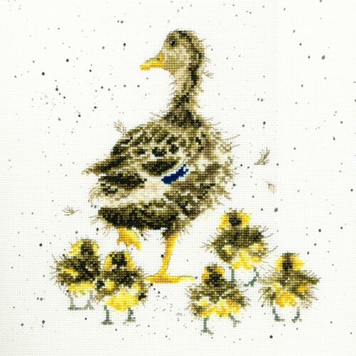 BOTHY THREADS LOVELY MUM CROSS STITCH KIT DUCK /& DUCKLINGS NEW XHD2
