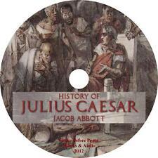 History of Julius Caesar, by Jacob Abbott unabridged Audiobook on 1 MP3 CD