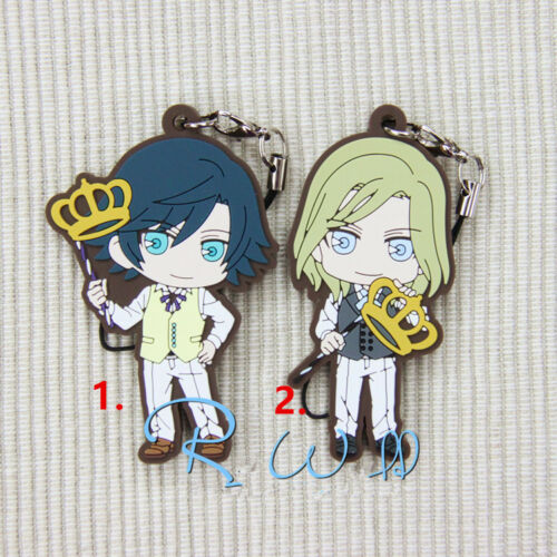 T643 Hot Anime Uta no Prince-Sama rubber Keychain KeyRing Rare straps cosplay