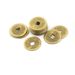 20x-Feng-Shui-Coins-2-3cm-Lucky-Chinese-Fortune-Coin-I-Ching-Money-Alloy-Hot-UUM