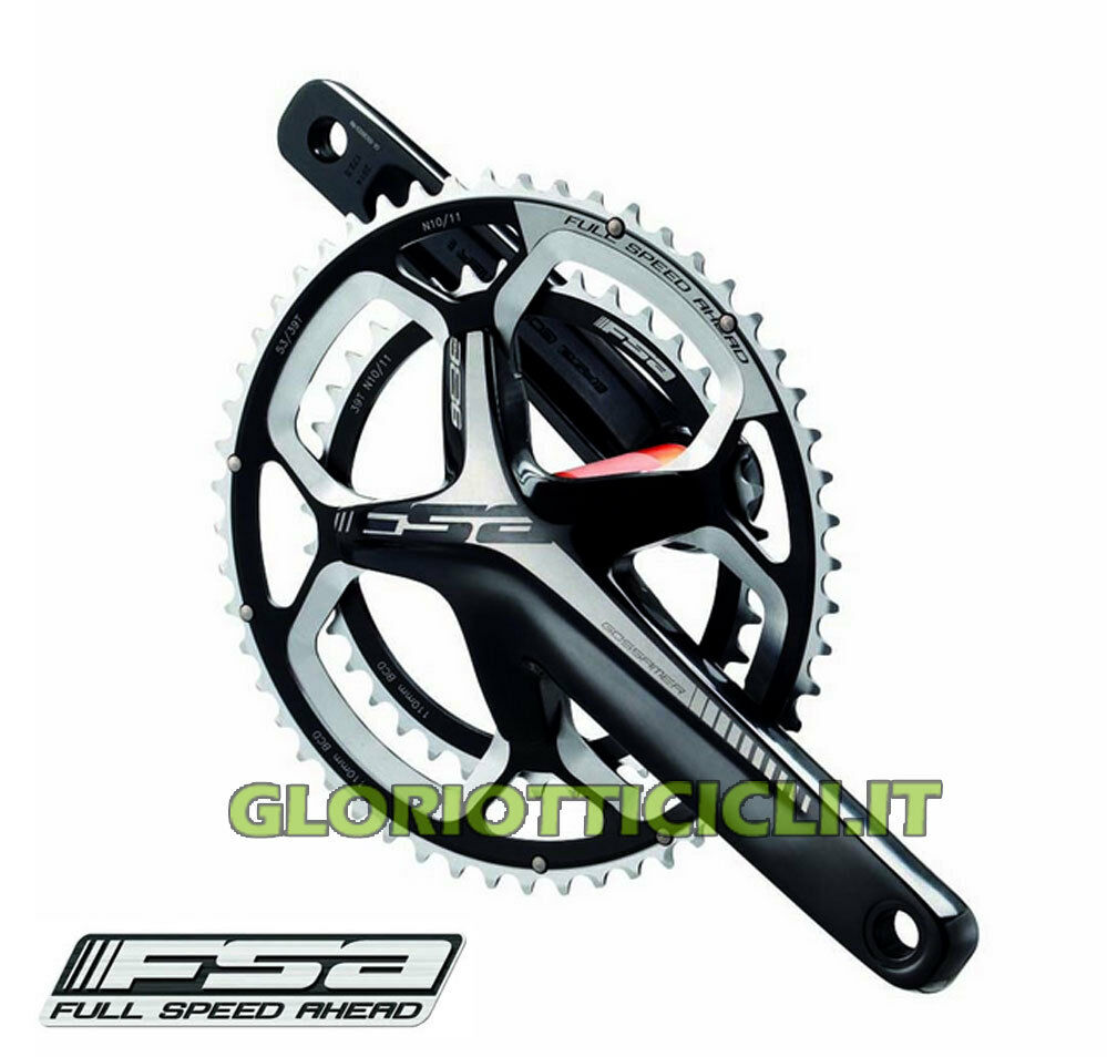 FSA GUARNITURA CORSA GOSSAMER PRO BB386EVO ABS 52x36