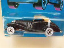 Vintage Hot Wheels Classics MERCEDES 540k Card 5142