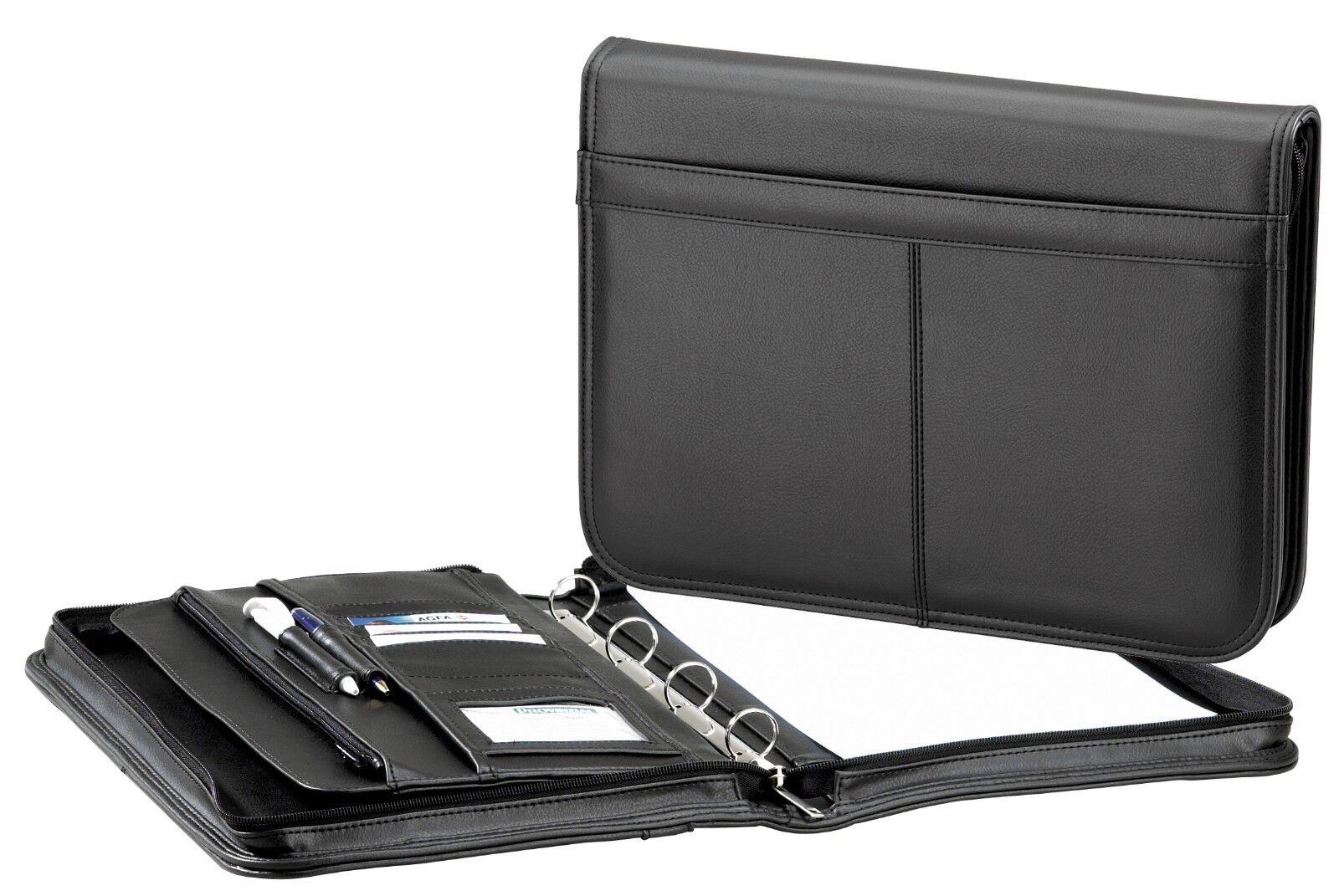 D&N Easy Business Schreibmappe  Konferenzmappe Arbeitsmappe Ringmechanik 5091 | Qualität Produkte  | Großer Räumungsverkauf  | Sale Online