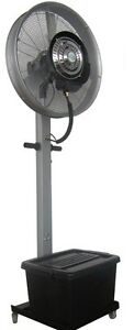 Outdoor Mist Water Fan Cooler Water Commercial/Domestic Big Spray