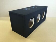 "Custom Ported Sub Box Enclosure for 3 8"" Sundown X-8 X8 Subs - 3.1 CU FT - 32 hz"