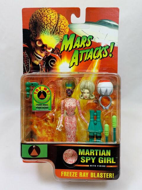 Mars Attacks Martian Spy Girl (Trendmasters - 1996) MOC
