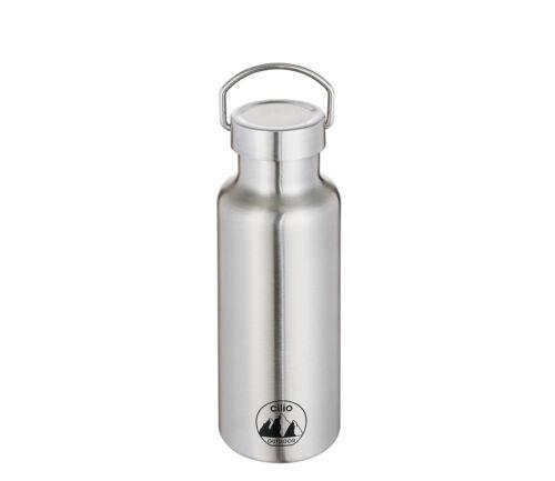 Auswahl Cilio Isolierflasche GRIGIO Thermosflasche Edelstahl Trinkflasche