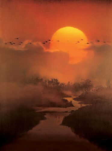 APOCALYPSE NOW TEXTLESS ARTWORK POSTER A4 A3 A2 A1 CINEMA MOVIE LARGE FORMAT